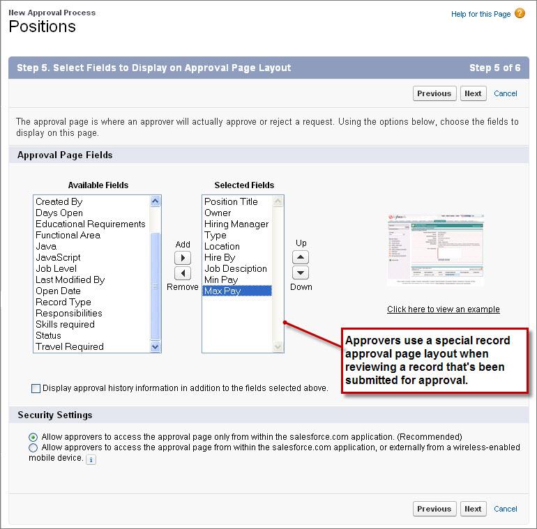 approval process in salesforce pdf