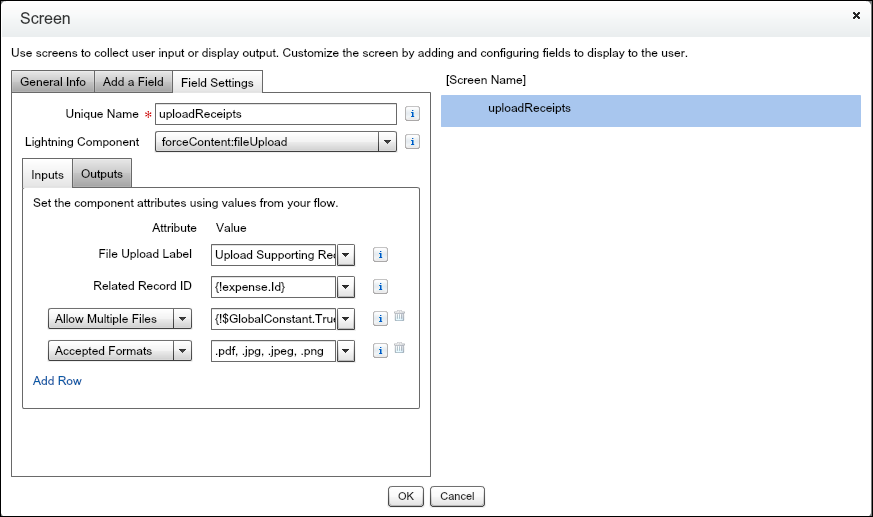 Upload Files Directly from a Flow   Cloud Flow Designer