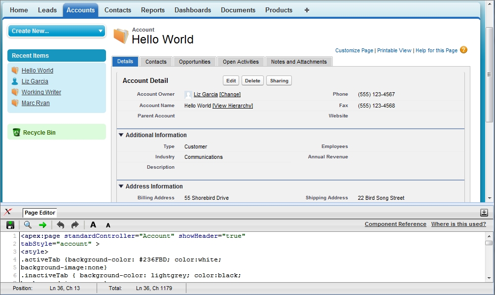 Salesforce pages developers guide | salesforce. Com | mobile device.