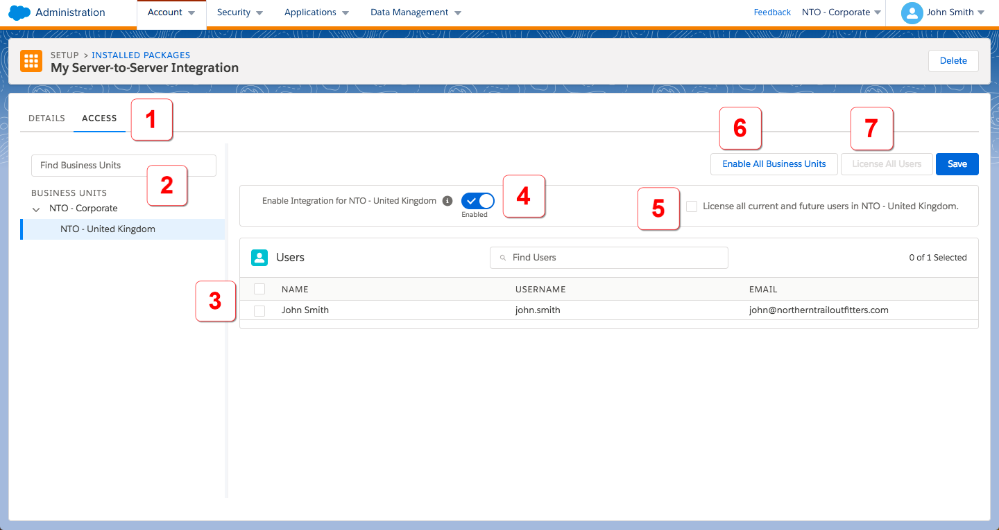 Installed Packages in Marketing Cloud