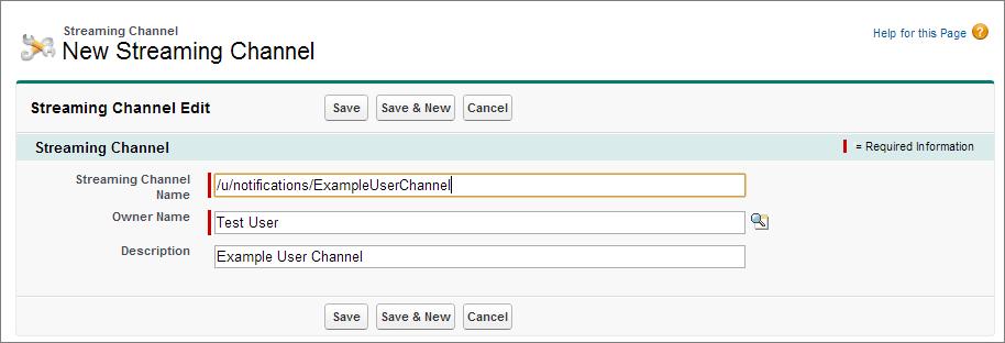 ストリーミングチャネルを作成する ストリーミング api 開発者ガイド