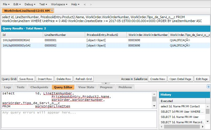 Create custon Visualforce page list, from Apex SOQL query