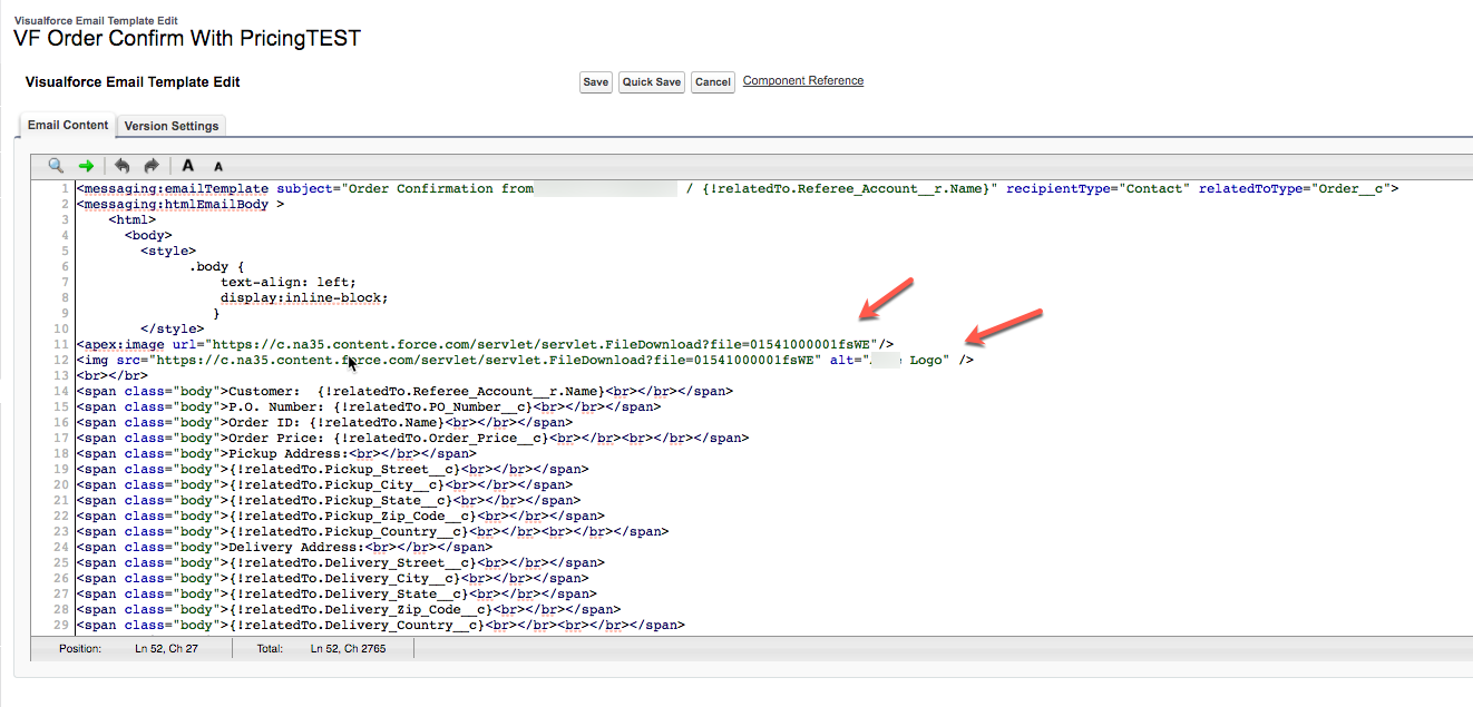 Visualforce Email Template Is Not Rendering An Image Salesforce
