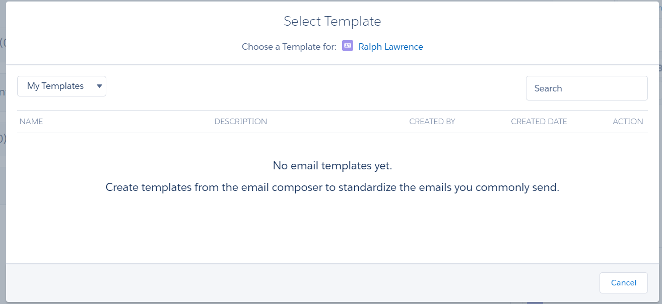 Email Templates Lighting Experience Salesforce Developer Community
