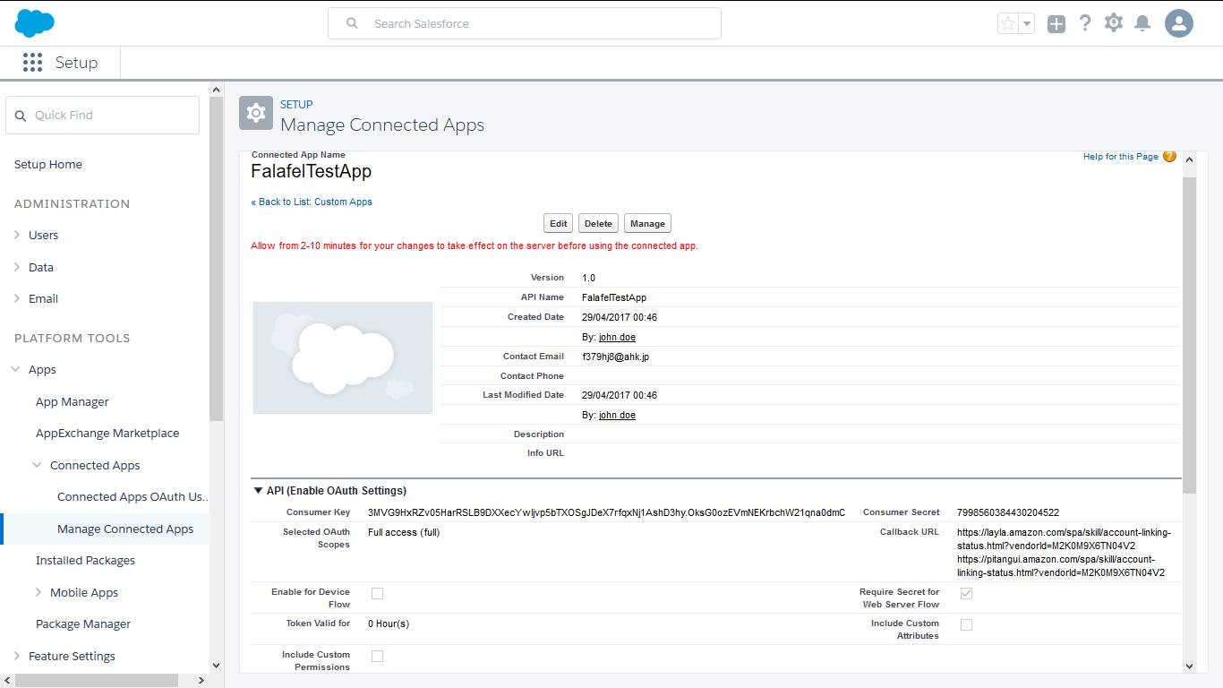 Why I have an error: error=redirect_uri_mismatch - Salesforce