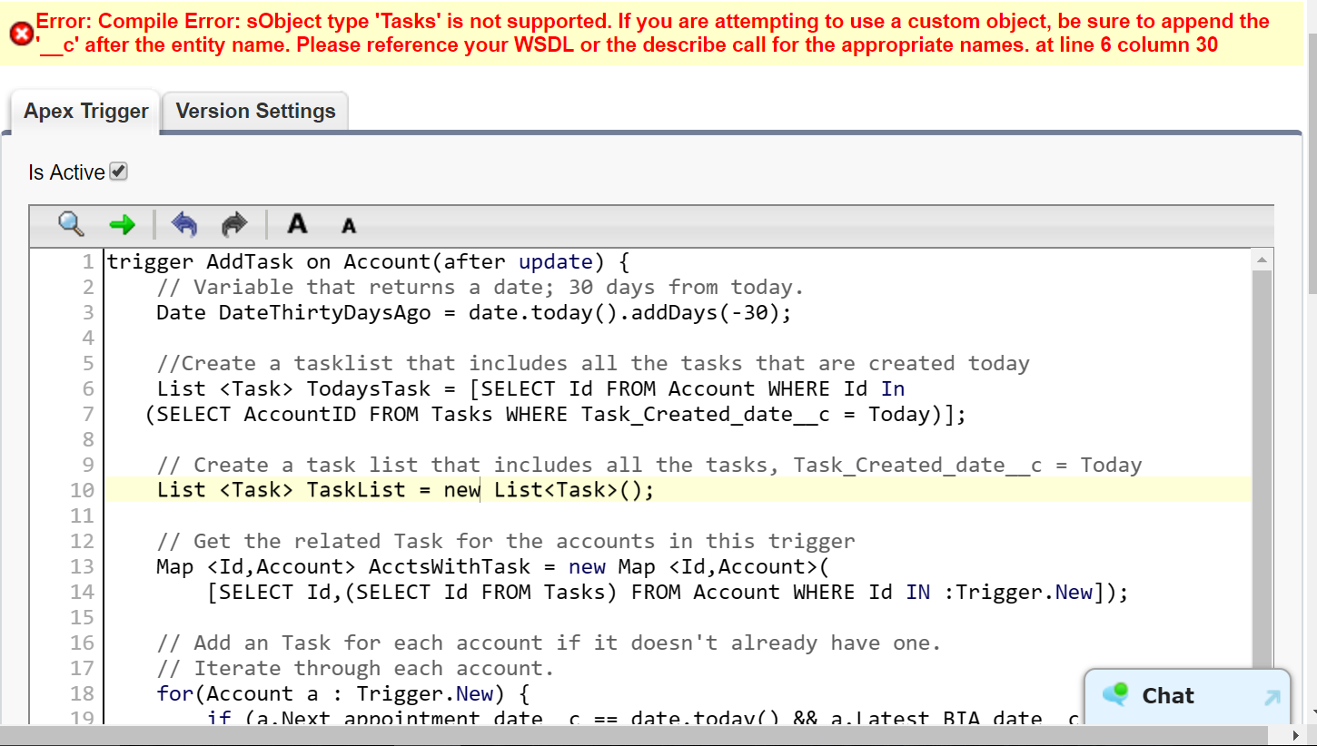 Can't figure out what wrong with this query? - Salesforce Developer