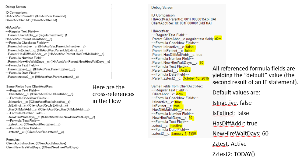 Visual Flow Cross-Object Reference to Formula Fields