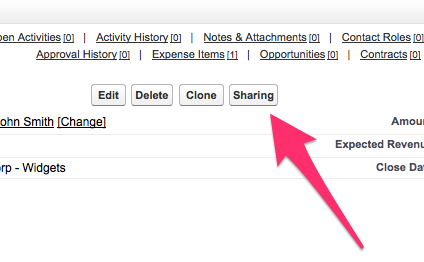 Consideration for enabling manual sharing in Salesforce