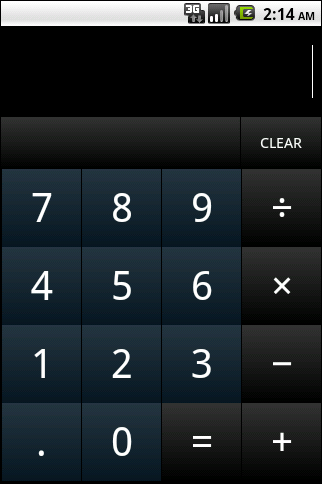 How to create number pad GUI for calculator using