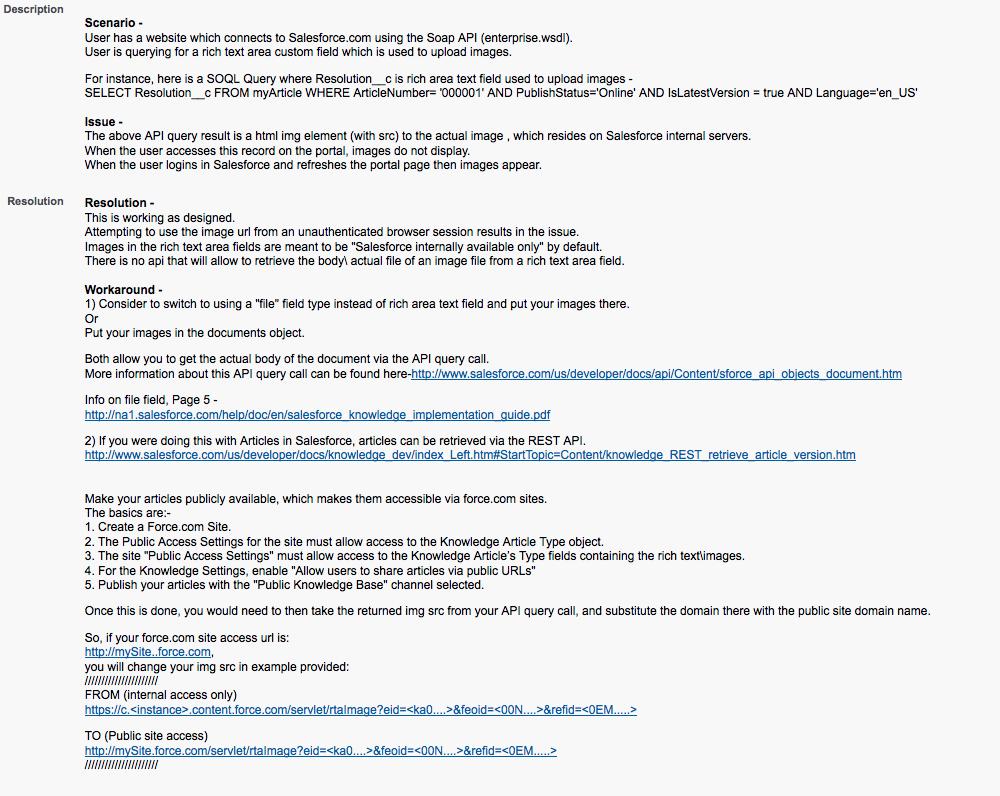 Making KB attachments public via force com site - Salesforce