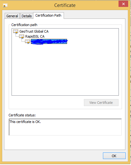 Unable to find valid certification path to requested target ...