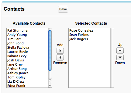 Dynamic Multi select picklist - Salesforce Developer Community