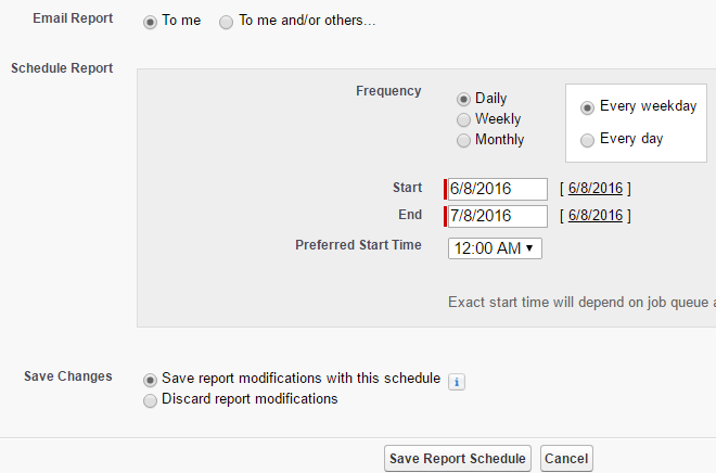 How to set up a VF page including buttons and date fields to