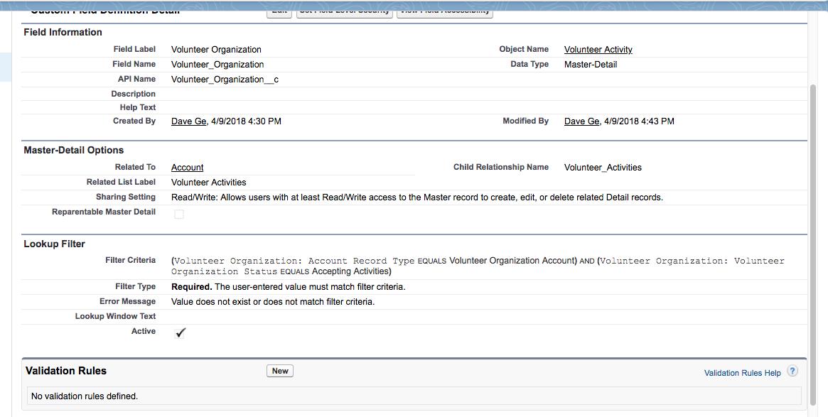 App Customization Specialist Superbadge Section 2: