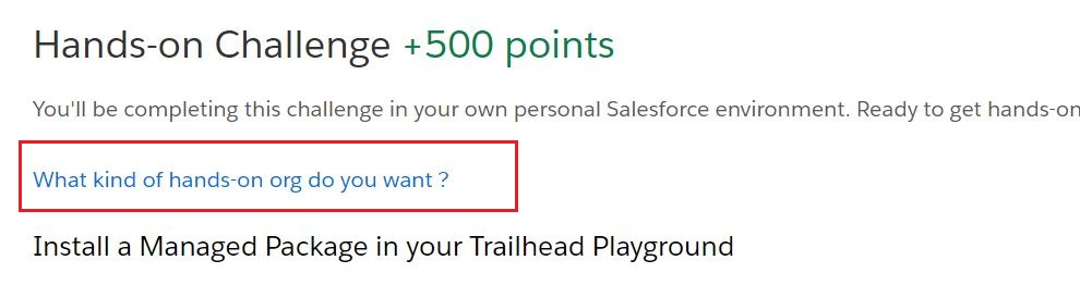 Unable To Create A New Trailhead Playground Salesforce Developer