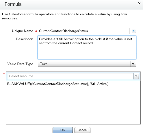 set current value of picklist in flow - Salesforce Developer