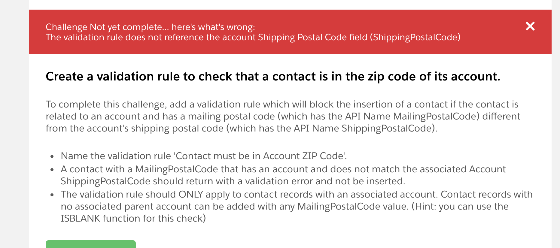 Create A Validation Rule To Check That A Contact Is In The Zip - Us zip code checker