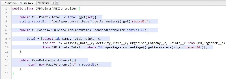 Apex Test Class for Standard Controller + Extension
