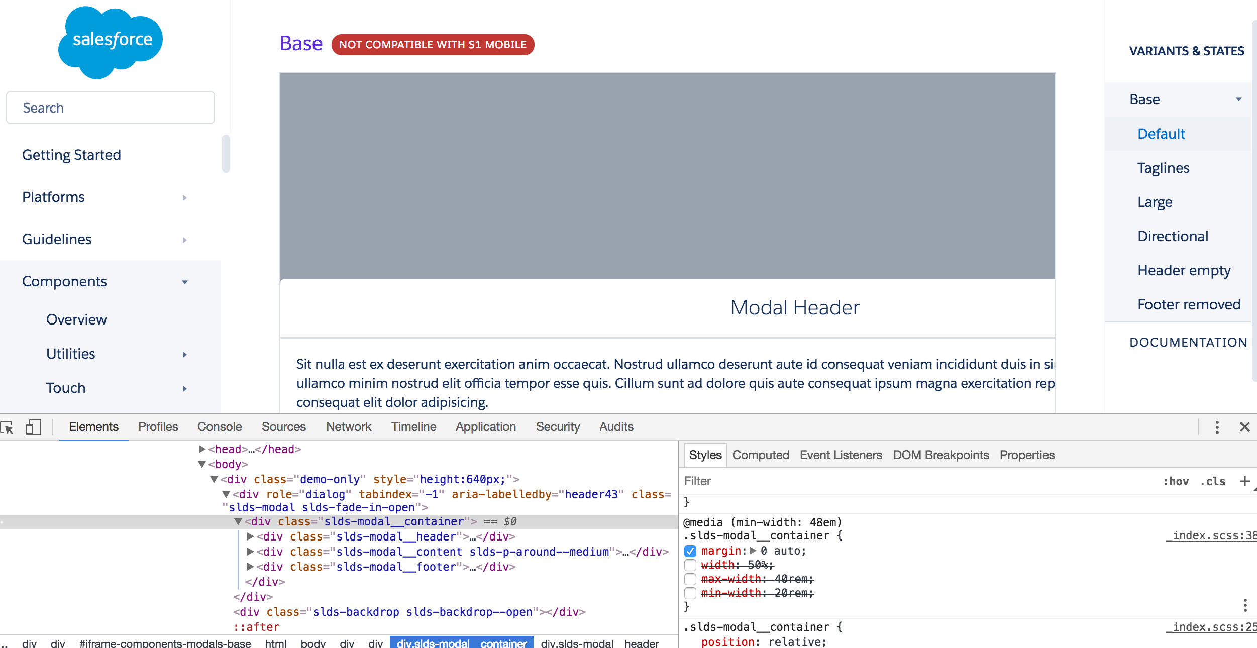 Modal size in lightning action - Salesforce Developer Community