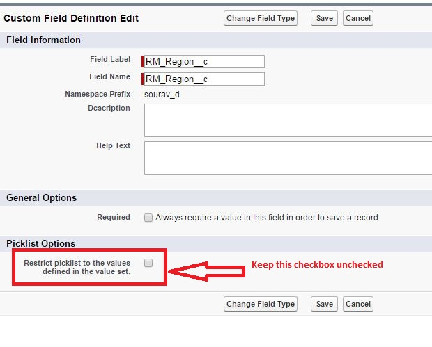 Bad value for restricted picklist field - Salesforce