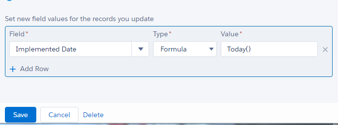 Process Builder TODAY() Please enter a valid date  - Salesforce