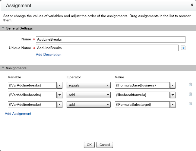Add A Carriage Returnline Break To A Custom Formula Salesforce