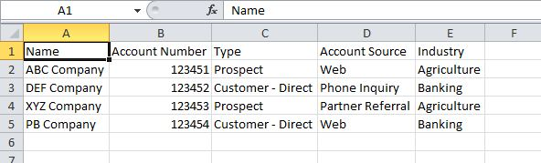 Update Existing records by Upload CSV File - Salesforce
