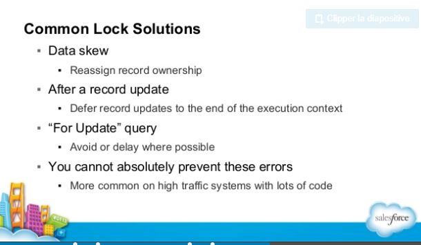 Locking rows at the last minute - Salesforce Developer Community