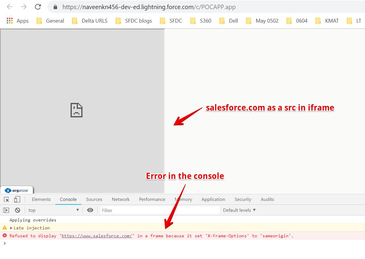 iframe - Salesforce Developer Community