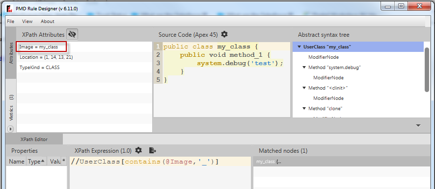 Custom apex rules in PMD static code scanner - Salesforce