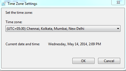 Time zone error while sync task from outlook to salesforce