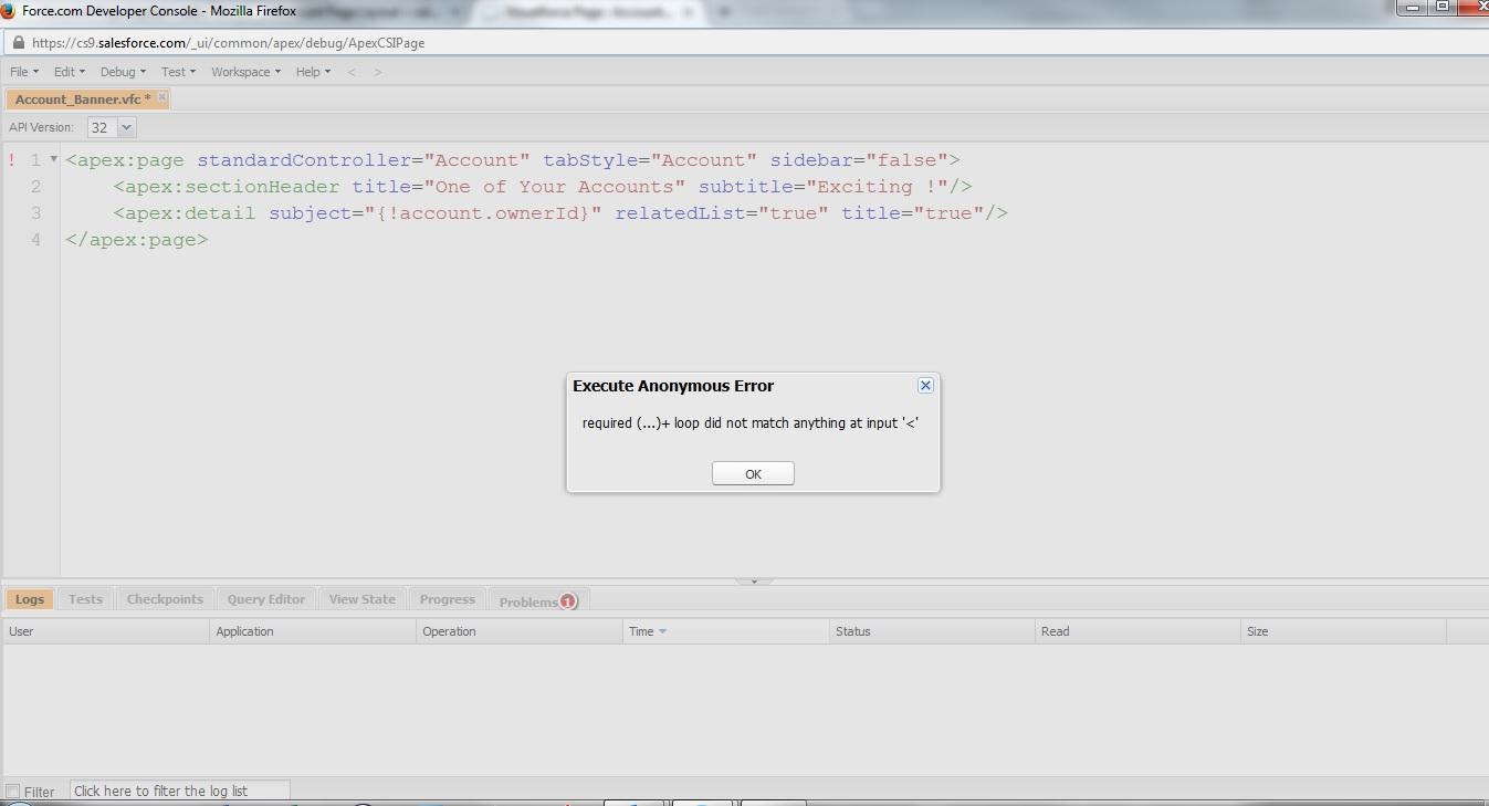 Visualforce Page Component for a Banner - Salesforce Developer Community