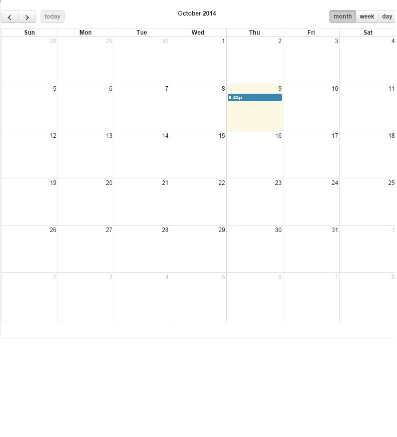 JSON Feed for FullCalendar Event Not Displaying - Salesforce