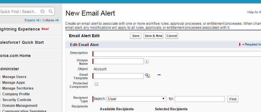 Automated Email Triggers Using Html Templates Salesforce Developer