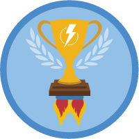 Einstein High Velocity Sales Cloud badge