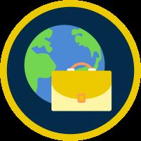 Strategies for Positive Environmental Impact badge