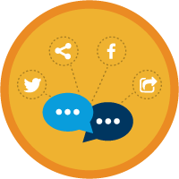 Social Media Marketing & Engagement icon