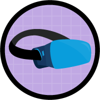 Build a 3D Virtual Reality App badge