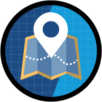Build an Account Geolocation App icon