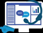 Criar suas ferramentas de gerenciamento de serviços ao cliente icon