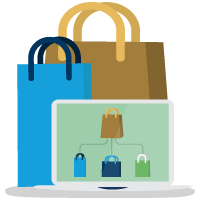 Develop for Commerce Cloud icon