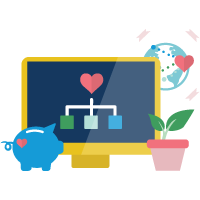 Manage Fundraising for Nonprofits icon